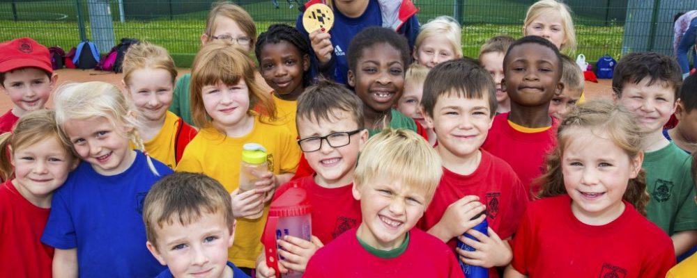 Children at Summer Games