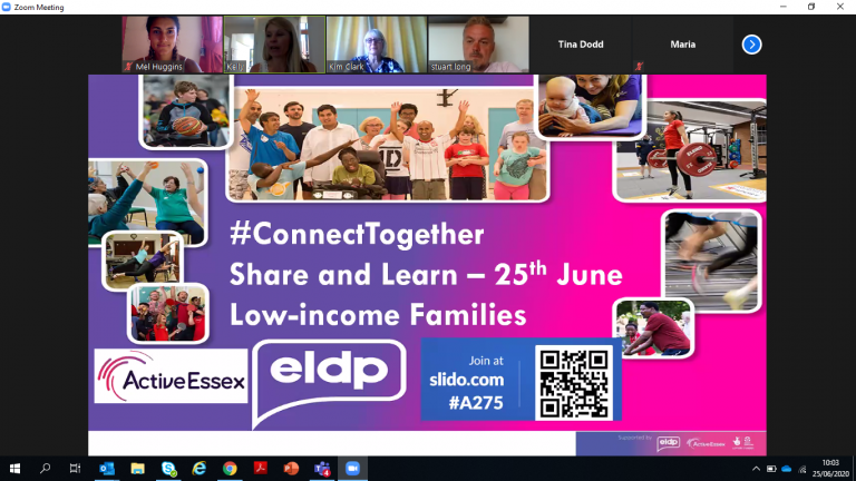 June: Share and Learn Event-Low-Income Families