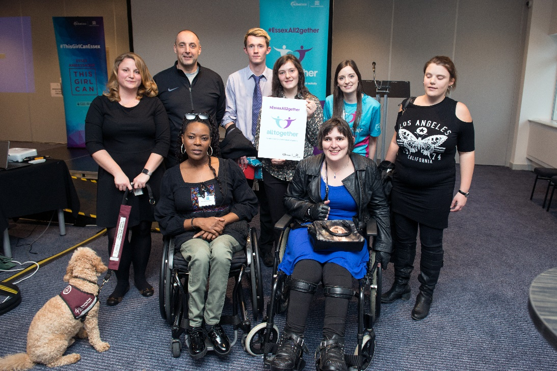 Essex organisations back All Together disability sport campaign