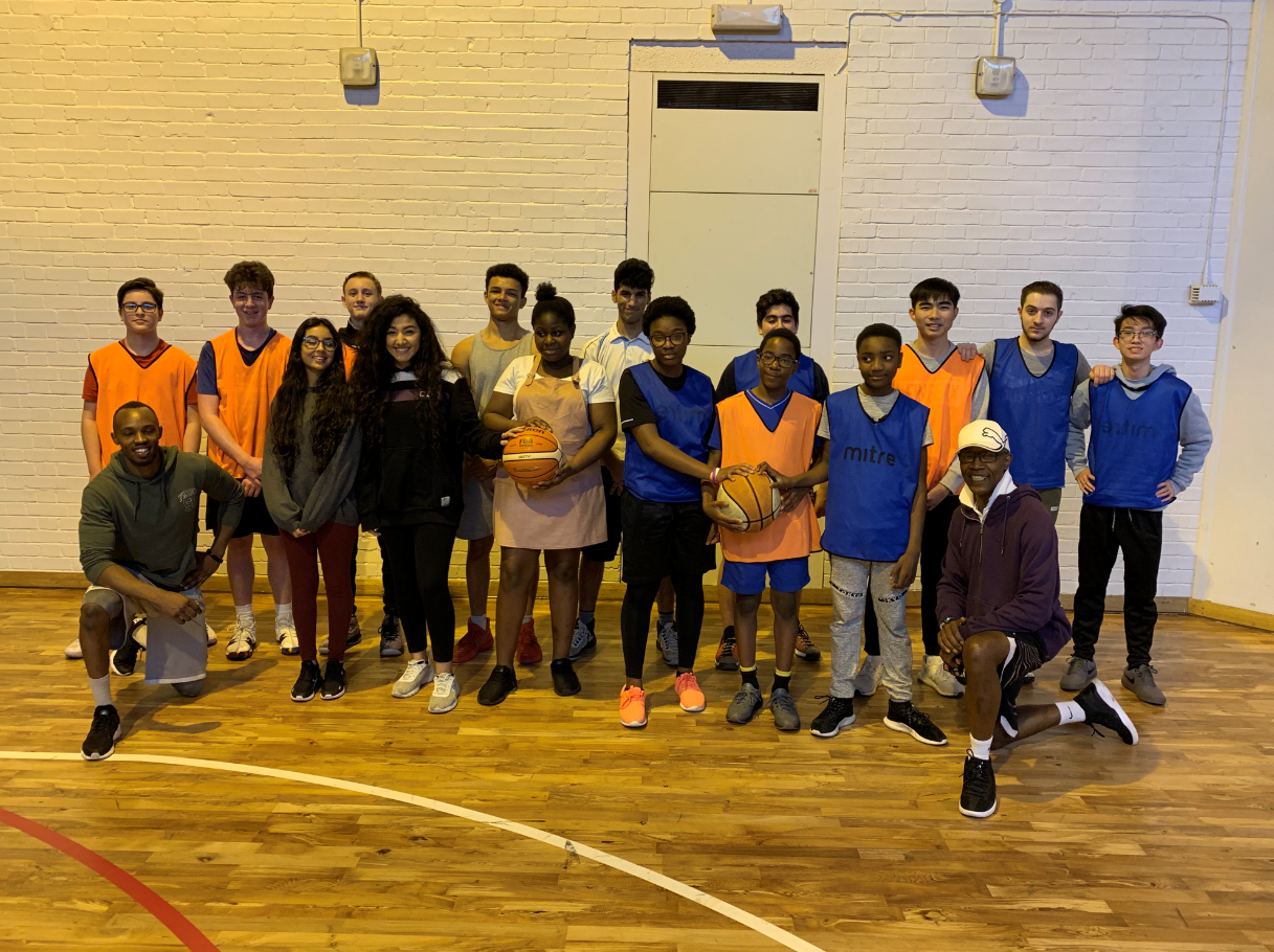 Inspirational basketball project doubles numbers at African youth club in Colchester