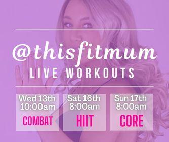 Lisa Maria Kirwan Live Workouts